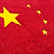 China flag background — Stock Photo