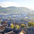 Lijiang old town at morning, China. — Stock Photo