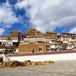 Ganden Sumtseling Monastery in Shangrila, Yunnan, China. — Stock Photo