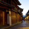 Royalty-Free Stock Photo: Lijiang old town at morning, China.