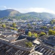 Stock Photo: Lijiang old town in morning, UNESCO world heritage in Yu
