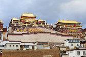 Ganden Sumtseling Monastery in Shangrila, Yunnan, China. — Stock Photo