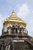 Wat Chiang Man temple in Chiang Mai, Thailand. — Stock Photo