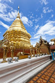 Wat Phrathat Doi Suthep temple in Chiang Mai, Thailand. — Stock Photo