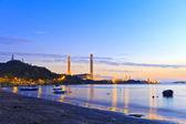 Power plants along the coast — Stock Photo