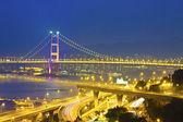Bridge in modern city — Stock Photo