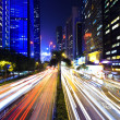Traffic in city at night — Stock Photo #25863289