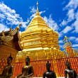 Thailand temple in sunny day — Stock Photo