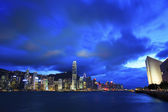 Hong Kong Kowloon at sunset — Stock Photo