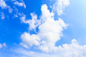 Blue sky and clouds background — Stockfoto