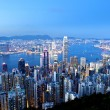 Hong Kong at night — Stock Photo