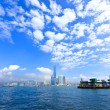 Harbor view in Hong Kong — ストック写真