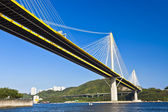 Bridge in Hong Kong at day — Stock Photo