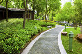 Kinesisk trädgård — Stockfoto