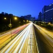 Highway light trails — Stock Photo #32755215