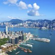 Hong Kong skyline — Stock Photo