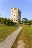 Kaiping Diaolou houses in Guangdong, China. — Stock Photo