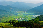 Rural landscape in Wuyuan, China. — Stock Photo
