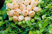 Beautiful bouquet of flowers ready for the big wedding ceremony — Stock Photo