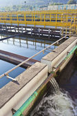 Industrial water treatment plants — Stockfoto