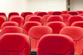 Lecture room chairs — Stock Photo