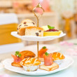 Stock Photo: Afternoon tea