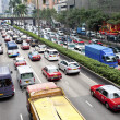 图库照片: Traffic jam in Hong Kong