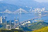 Hong Kong bridges — Stock Photo