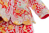 Chinese wedding clothes — Stock Photo