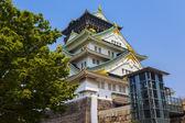 Osaka Castle view at Japan — Stock Photo