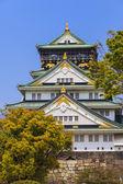 Osaka Castle in Osaka, Japan. — Stock Photo