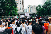 1 July 2014 protest — Foto Stock