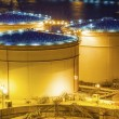 Oil tanks at night in Hong Kong — Stock Photo #51763301