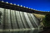 Dam at night  — Stock Photo