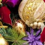 Christmas decorations background — Stock Photo #7604343