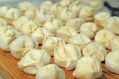 Traditional Russian dumplings — Stock Photo