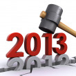 New year 2013 — Stock Photo #17698795