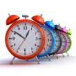Alarm clocks — Stock Photo #24075583
