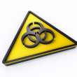 Biohazard sign — Stock Photo