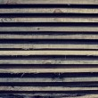 Horizontally lying wooden old bars — Stock Photo