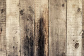 Old dirty wall from wooden bars vertical — Stock Photo