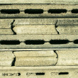 Stock Photo: Gray concrete figured concrete plates