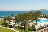 在 kilikia 宫酒店景观 — 图库照片