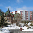 Hotels in Tatras. — Stock Photo