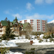 Old and modern hotels in High Tatras. — Stock Photo #14733975
