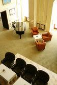 Lobby bar in luxury hotel. — Fotografia Stock