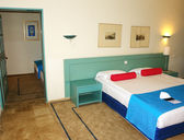 Interior de la habitación del hotel. — Foto de Stock