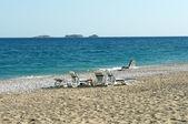 Beach in Turkey — Stock Photo