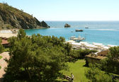 Days view of coast. — Stock Photo