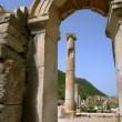 Stock Photo: Old arch in Efes.